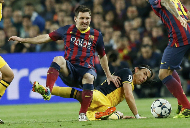Trận đấu cuối cùng của La Liga 2013-14, Barca phải thắng để vô địch.