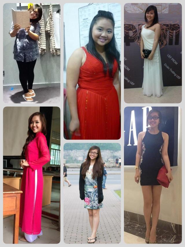 Thanh Ngân từ cô nàng 84kg đã trở thành cô nàng sở hữu cân nặng lý tưởng - 54kg