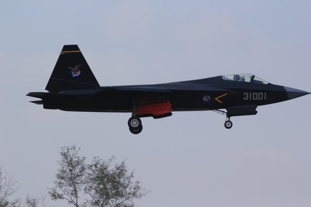 Máy bay tàng hình thế hệ 5 J-31 của Trung Quốc.