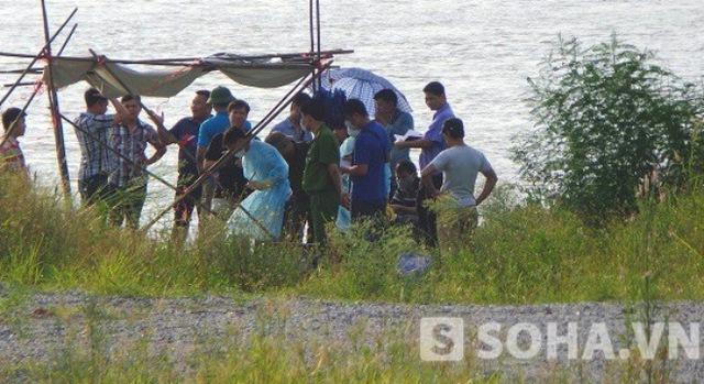 Hiện trường nơi tìm được thi thể được xác định là của chị Huyền ngày 18/7.