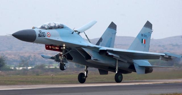 Máy bay Su-30K khi còn trong biên chế Không quân Ấn Độ