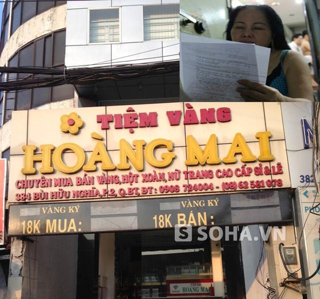 Bà Mai xác nhận rằng ông Dương Công Kiên không phải là nhân viên công ty bà, cũng không có hợp đồng lao động nào giữa công ty với ông Kiên. Do đó, việc áp dụng mức xử phạt trên là không hợp lý