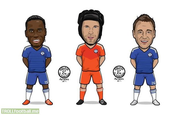 Bộ 3 huyền thoại của Chelsea