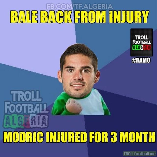 Bale khỏe thì Modric lại yếu, Isco vẫn được đá đều đều