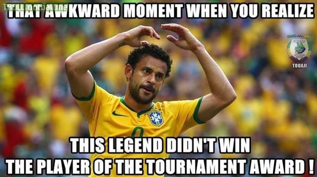Fred không chơi cho ĐT Brazil là nỗi buồn lớn của các đối thủ