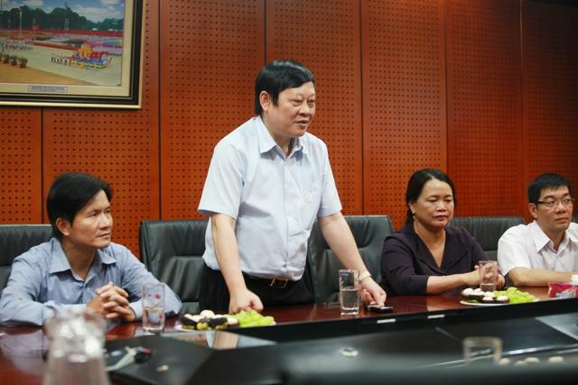 Thứ trưởng Nguyễn Viết Tiến.