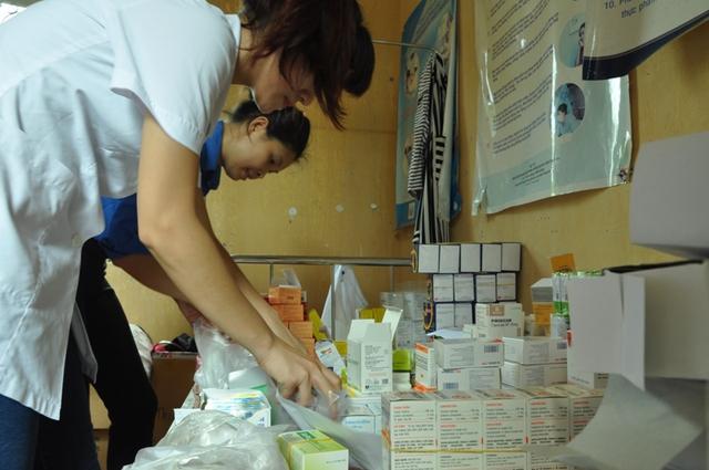 Thuốc dành cho buổi khám miễn phí của Bệnh viện Bạch Mai