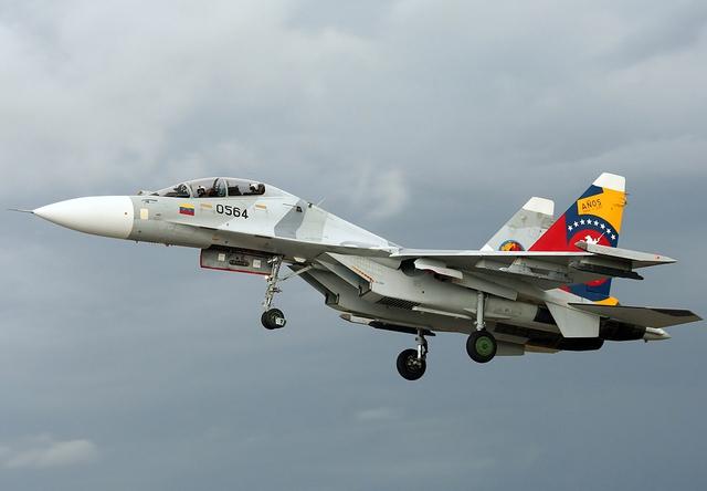 Máy bay Su-30MK2 của Không quân Venezuela