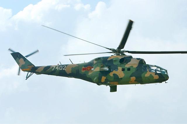 Trực thăng vũ trang Mi-24 của Không quân Việt Nam