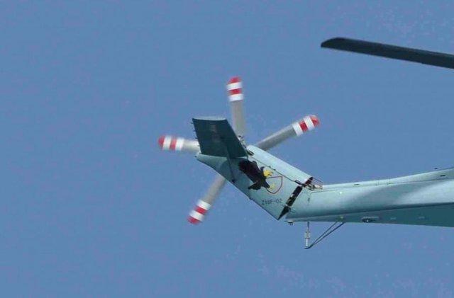 Cánh đuôi của Z-18F
