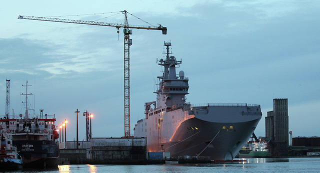Hải quân Pháp không muốn có thêm 2 chiếc Mistral nữa.