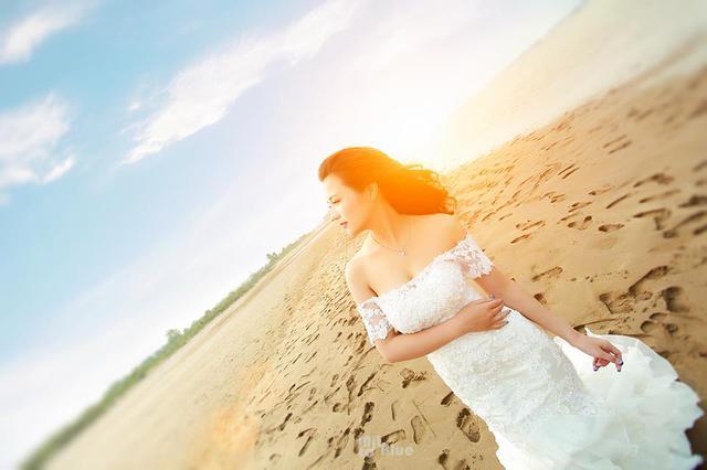 """Hình ảnh Song Ngân trong bộ ảnh """"Ngày mai em sẽ là cô dâu""""."""