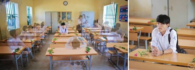 Để ghi lại những ngày tháng cuối cùng học cùng nhau dưới mái trường cấp 3, tập thể lớp 12A5, trường THPT Vũ Tiên (Thái Bình) đã cùng thực hiện bộ ảnh kỷ yếu.