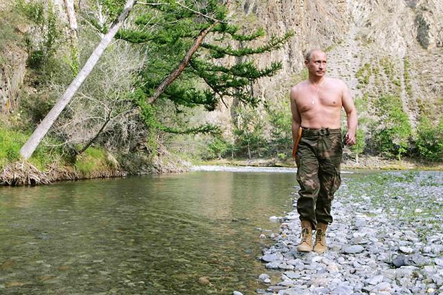 Tổng thống Putin tại Siberia