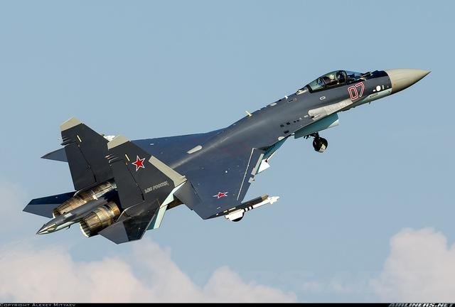 Máy bay chiến đấu Su-35 của Không quân Nga.
