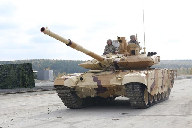 Xe tăng chiến đấu chủ lực T-90MS.