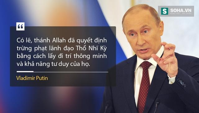 >>> Thông điệp Liên bang: Cơn thịnh nộ Putin dành cho Thổ Nhĩ Kỳ