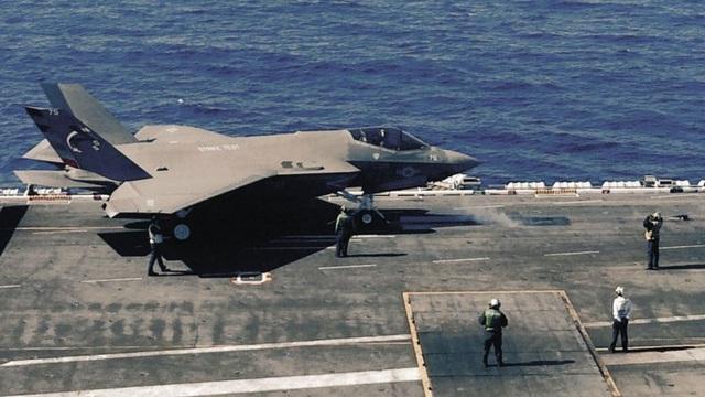 Theo nhà phân tích Jerry Hendrix, Mỹ nên hủy bỏ chương trình F-35C.