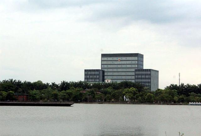Trụ sở mới cao 11 tầng của UBND tỉnh Nghệ An.