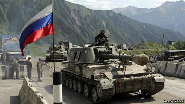 Trong cuộc chiến tại Gruzia, quân đội Nga đã bộc lộ nhiều điểm yếu.