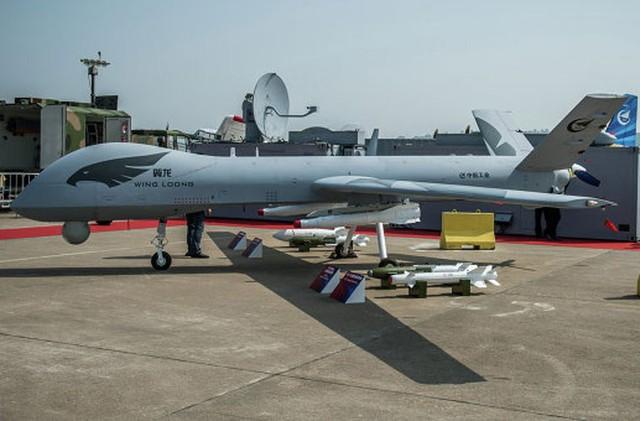 Máy bay không người lái Wing Loong