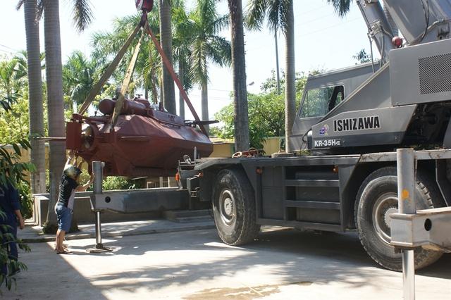 Tàu ngầm mới có kích thước tương đương với tàu Trường Sa 1 và được cấu tạo bởi các loại vật liệu tương tự.