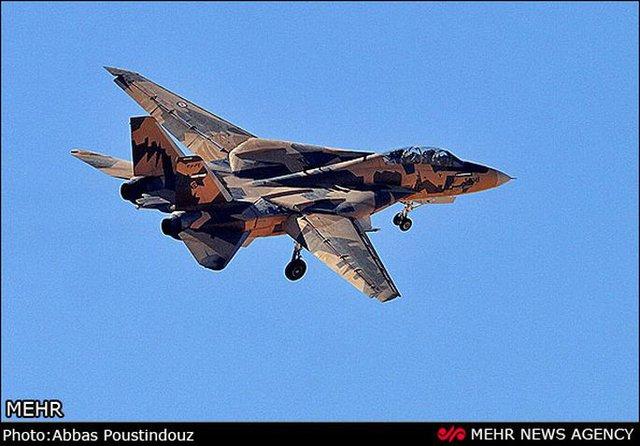 Tháng 12 năm ngoái, một chiếc F-14 được nâng cấp của Iran xuất hiện với màu sơn ngụy trang mới. Tuy nhiên, không rõ đã có bao nhiêu chiếc Tomcat được chuyển sang màu sơn mới này.