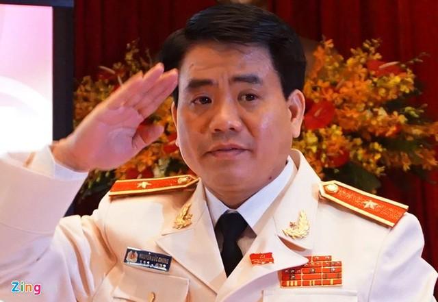 Tân Phó bí thư Hà Nội Nguyễn Đức Chung. Ảnh: Công Khanh/Zing.vn.