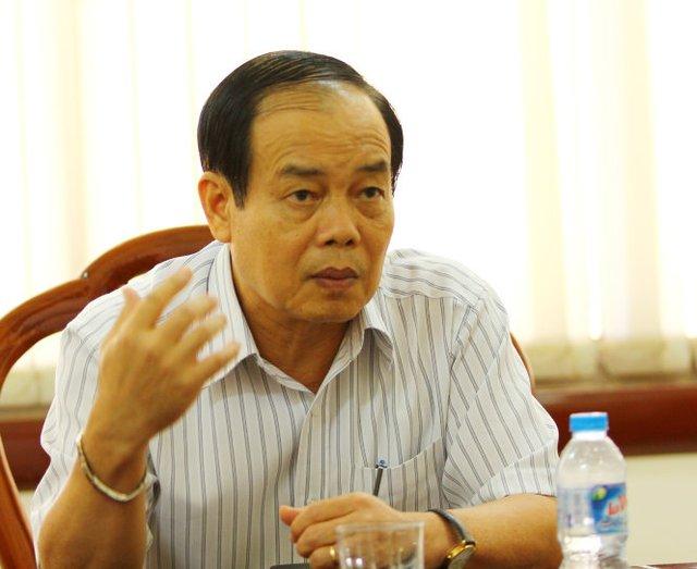 Ông Vương Bình Thạnh nói: Quan điểm của tôi trong vụ việc này là sẵn sàng tha thứ cho các cá nhân vì họ đã thấy được lỗi của mình- Ảnh: Chí Quốc