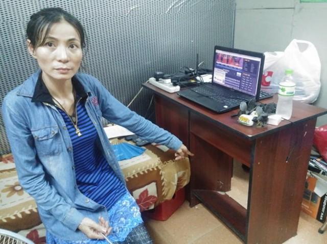 Bà Phạm Thị Ngọt, người vừa xuất hiện tự nhận mình là chủ nhân của 5 triệu yen trong chiếc loa cũ