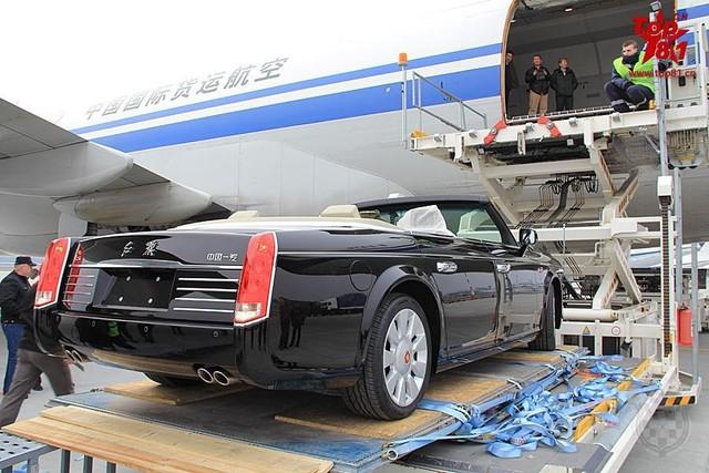 Hồng Kỳ L5 được hãng hàng không Trung Quốc Air China vận chuyển tới Belarus.
