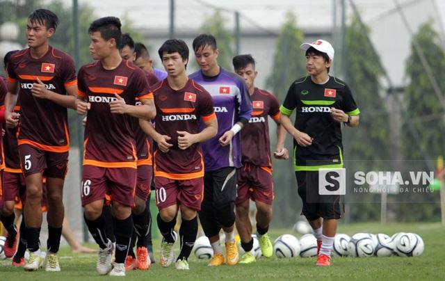 HLV Miura chờ đợi các học trò của ông sẽ thể hiện ý chí mãnh liệt để giành quyền vào vòng tứ kết U23 châu Á.