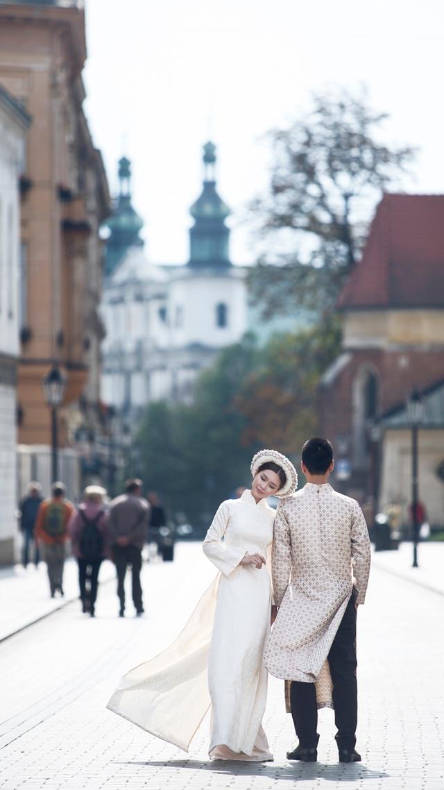 Được biết Ba Lan chính là nơi ông xã Diễm Trang sinh sống, làm việc.