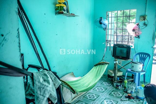 Toàn bộ chi phí 1 tháng trong căn phòng này tiêu tốn của Cò gần 500 nghìn đồng.