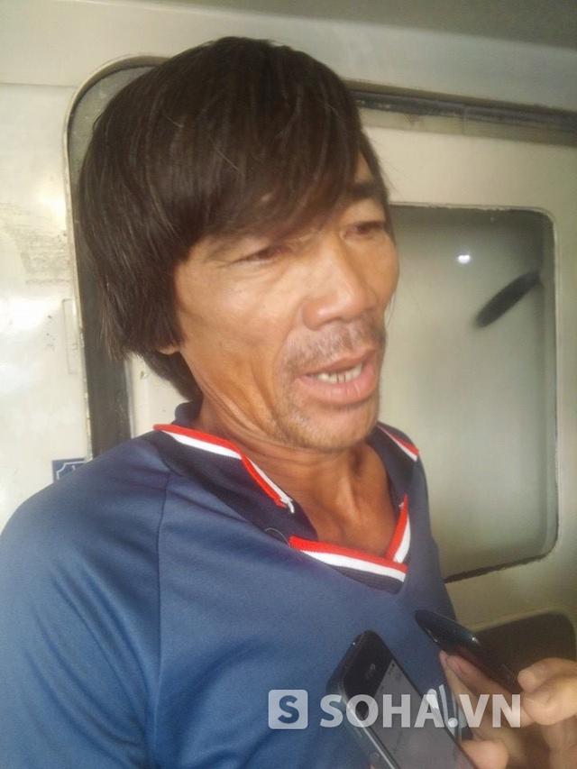 Ông Việt, một thuyền viên trên tàu