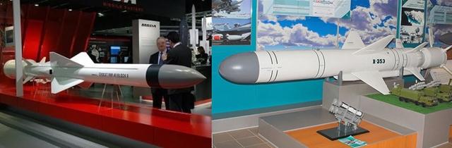Tên lửa chống hạm Exocet và Uran-E
