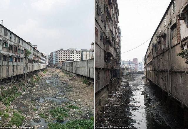 Ô nhiễm nguồn nước do rò rỉ hóa chất độc hại từ các xưởng may không ai kiểm soát.