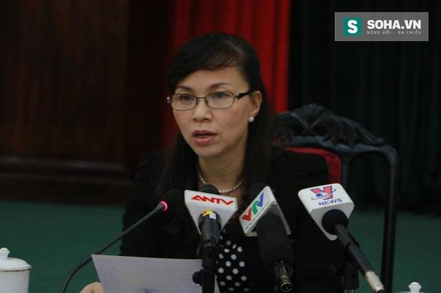 Bà Nguyễn Thị Kim Phụng, quyền Vụ trưởng Vụ Giáo dục Đại học - Bộ GD và ĐT