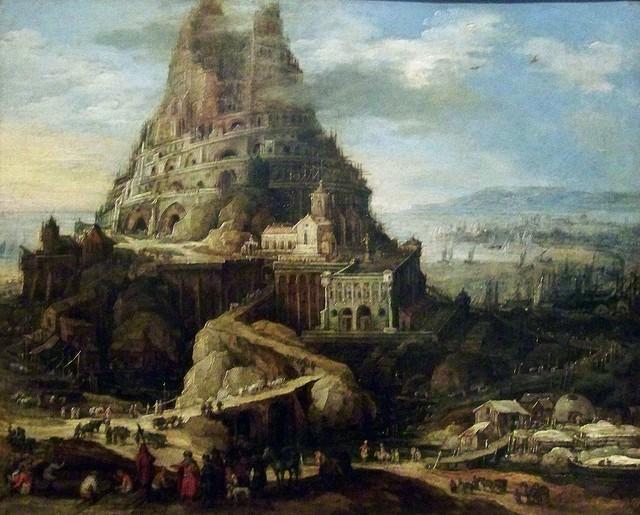 Tòa tháp Babel, biểu trưng cho sức mạnh của con người khi đồng tâm hiệp sức