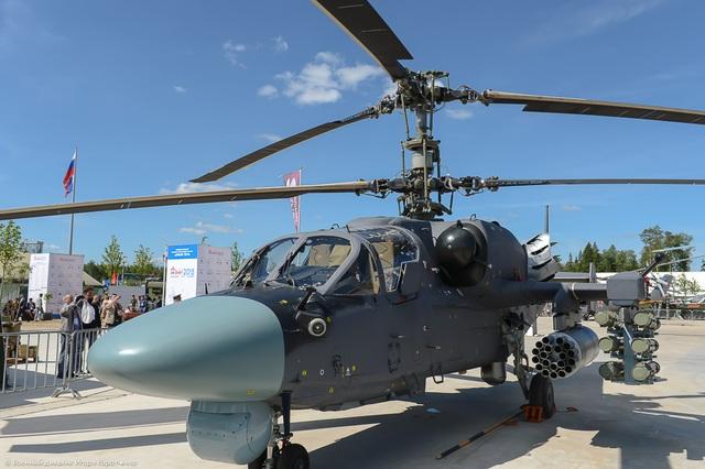 Việc thiết kế mẫu trực thăng Ka-52K được bắt đầu vào năm 2011. Nhiệm vụ của Ka-52K trong biên chế Hải quân Nga là trang bị trên các tàu đổ bộ để hỗ trợ hỏa lực khi đổ hoặc mang theo tên lửa chống hạm.