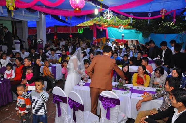 Một đám cưới ởquê (Ảnh mang tính chất minh họa)