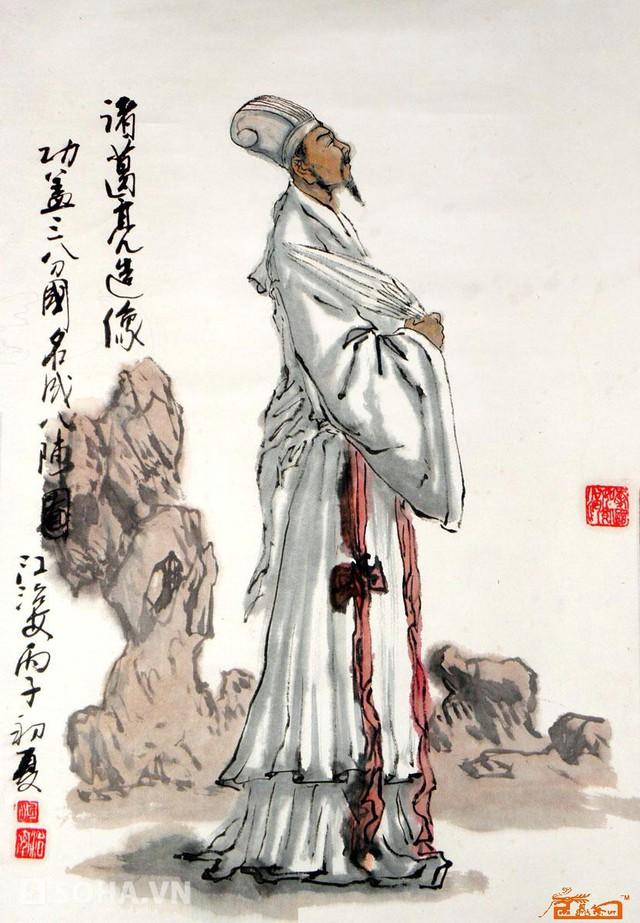 Khổng Minh đã dày công tính toán đường đi nước bước để giúp Lưu Bị làm bạn với Tôn Quyền.