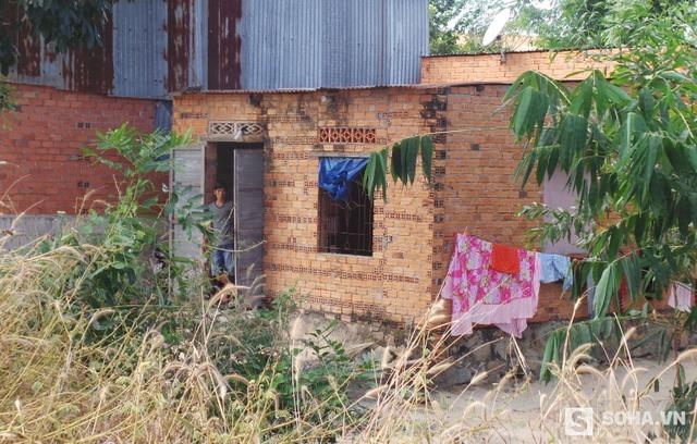 Ngôi nhà của gia đình ông Huỳnh Văn Nén