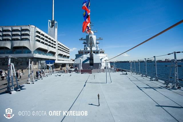 Tàu hộ tống thuộc đề án 20381 có chiều dài 104,5m, rộng 13m, lượng giãn nước đầy tải 2.200t, tốc độ tối đa 27 hải lý/giờ, tầm hoạt động 3.500 hải lý.