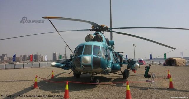Mi-171 là dòng trực thăng đa năng, ngoài chức năng vận tải, khi cần thiết nó còn có thể mang theo bom, rocket, pod súng máy gắn ngoài hoặc tên lửa chống tăng. Tuy nhiên, Quân đội Iran còn muốn nhiều hơn thế khi mới đây họ đã trang bị cả tên lửa chống hạm cho chiếc phi cơ này.
