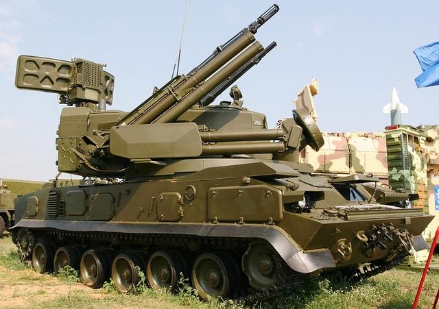Hệ thống tên lửa - pháo phòng không 9K22 Tunguska