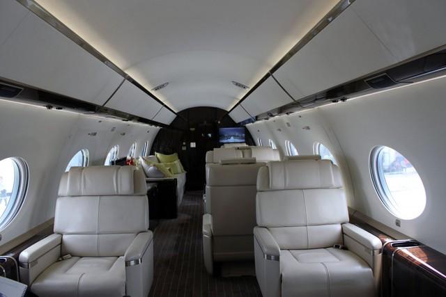 Cabin sang trọng là phần quan trọng nhất của chuyên cơ G650.