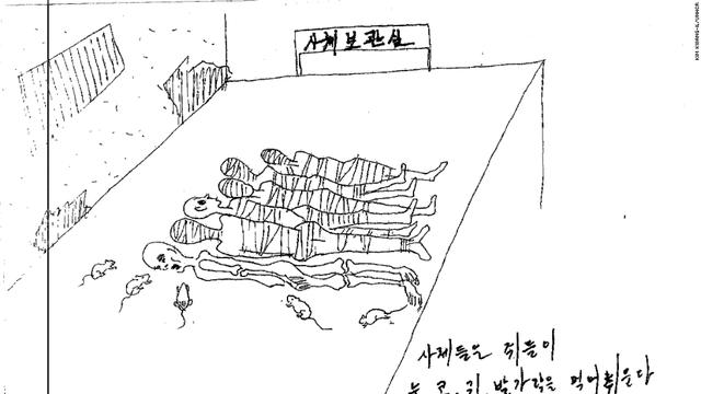Chuột là nỗi kinh hoàng của các tù nhân bị xiềng xích trong ngục.