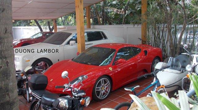 Ferrari 599 GTB, 458 Italia, Mercedes SLS AMG, Rolls-Royce Phantom, Bentley Arnage, Trung-Nguyên, siêu-xe