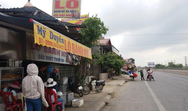 Tiệm bánh mì Mỹ Duyên - nơi xảy ra sự việc nhóm thanh niên hành hung chị Chung - Ảnh: Doãn Hòa